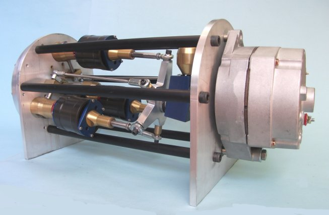 Green steam engine home page for Generator motor for sale